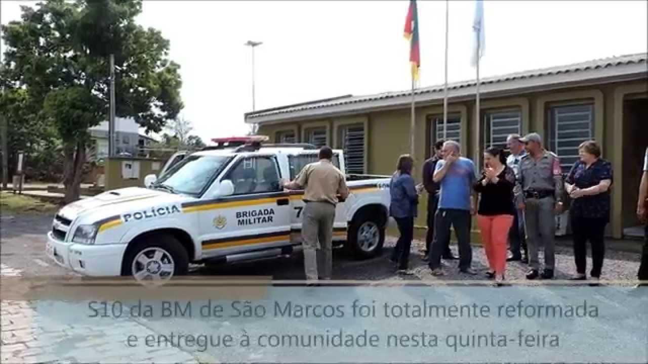Top Line entrega viatura restaurada para Brigada Militar de São ...
