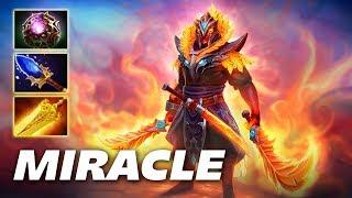 Miracle XIN Ember Spirit [Radiance + Aghanim] Dota 2 Pro Gameplay