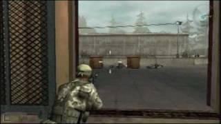 SOCOM: Fireteam Bravo 3 Level 8: Engagement Grounds Part 1 - Sony PSP - DVDfeverGames