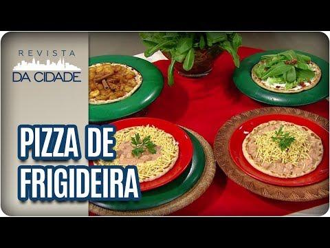 Receita De Pizza De Frigideira - Revista Da Cidade (19/10/2017)