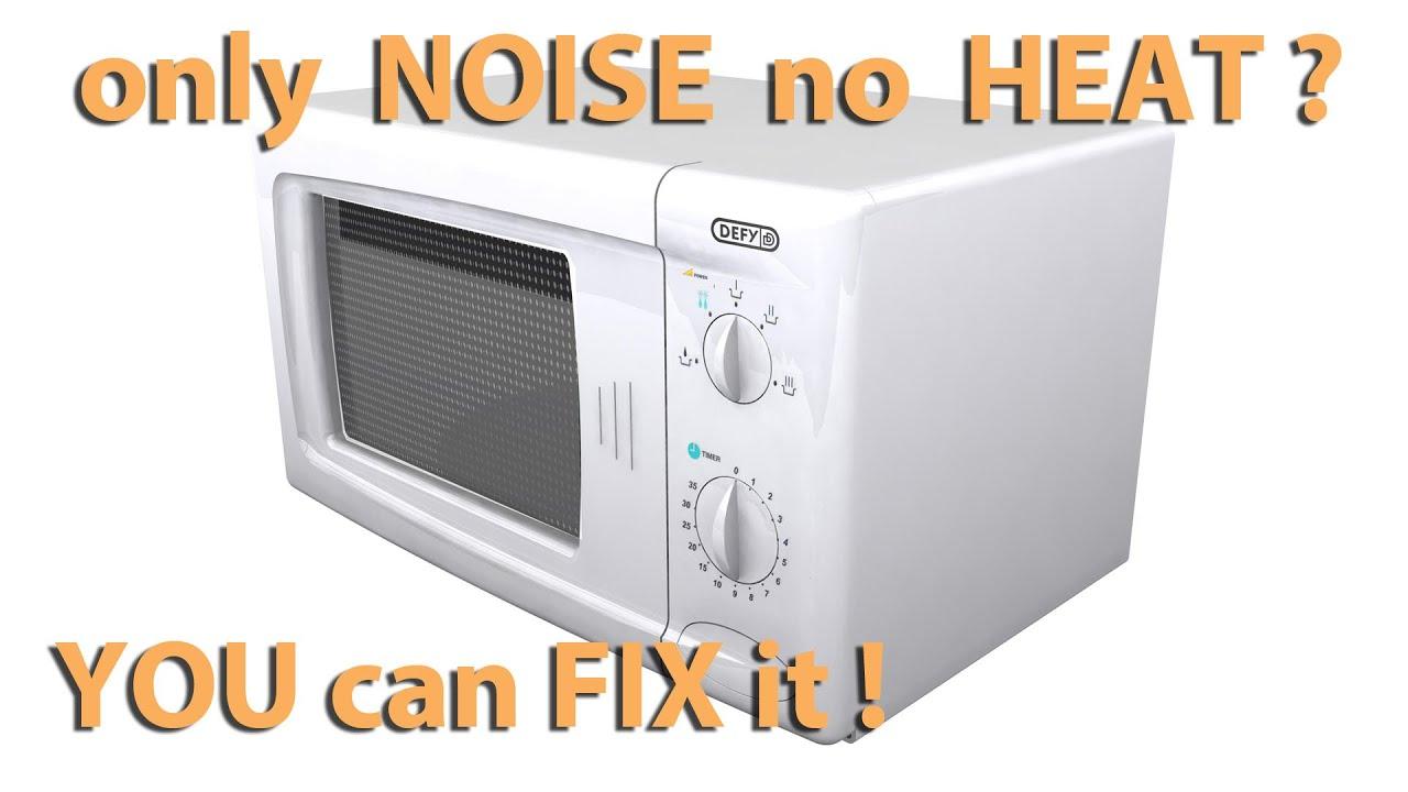 loud microwave