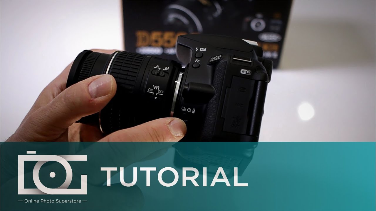 NIKON D5500 TUTORIAL   Does It Have Self Timer?