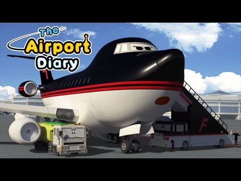 The Airport Diary ✈ Compilation 🚀 Top episodes - Cartoons about planes - Best animation for kids