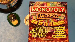 $20 Monopoly Jackpot - Going LIVE Friday Night 7 pm!