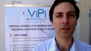 ViPi Training/Testing in Nicosia/Cyprus 22 March 2013: Interview with George Milis