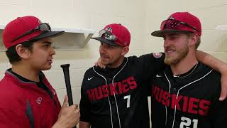 SCSU Baseball interview with Mitch Mallek and Mat Meyer. Zach Siggelkow moderates the conversation.
