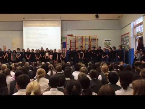 Year 6. North Ealing Primary School - Free Nelson Mandela