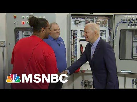 Pres. Biden Visits Ohio To Promote His Infrastructure Plan | MSNBC