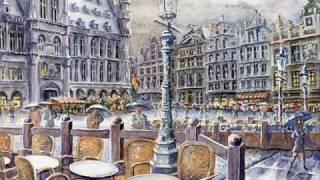 """""""Il pleut sur Bruxelles""""   DALIDA"""