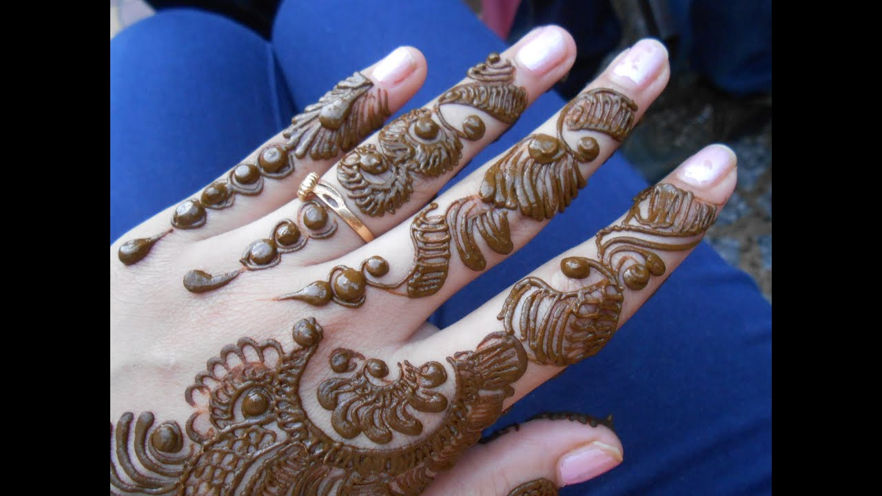 Easy Indo Arabi Mehendi Design For Beginners Simple Modern Design