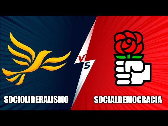 SOCIOLIBERALISMO VS SOCIALDEMOCRACIA - Historia y comparación