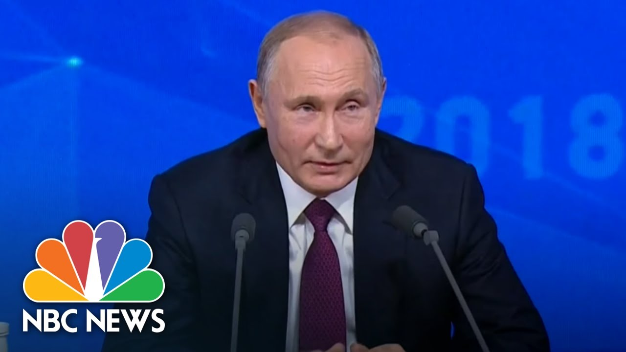 Vladimir Putin Is Quizzed On When He Ll Get Married Nbc News Youtube