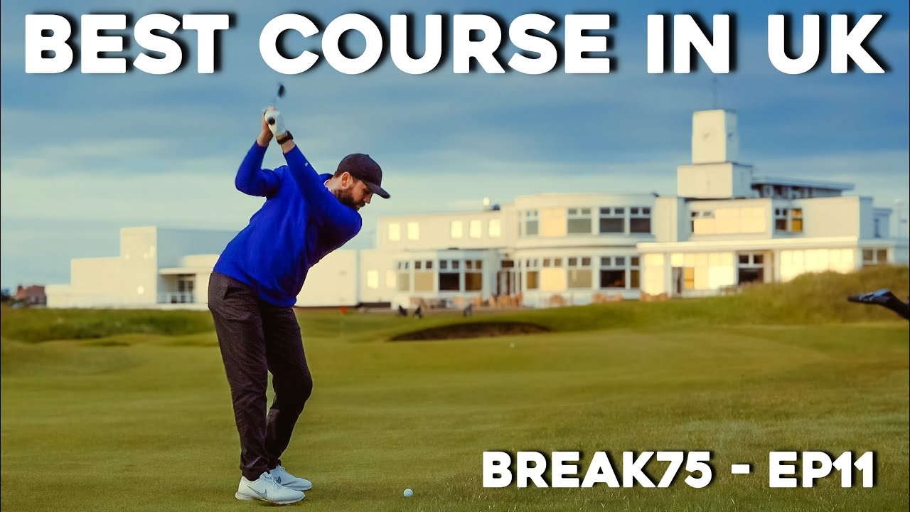 This golf course is VERY HARD  #Break75 EP11