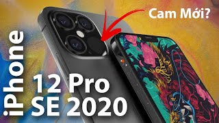 iPhone 12 Pro: Cụm Camera Mới - iPhone SE 2020 - iOS 14 And More! #Stayhome and Đớp #withme