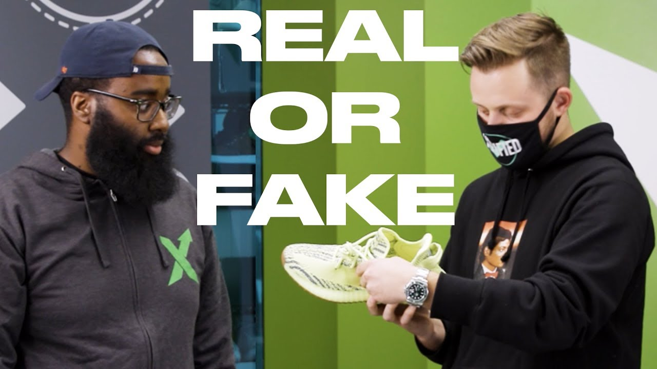 718cf7f686033f Real or Fake  Yeezy Busta + StockX bust fakes - YouTube