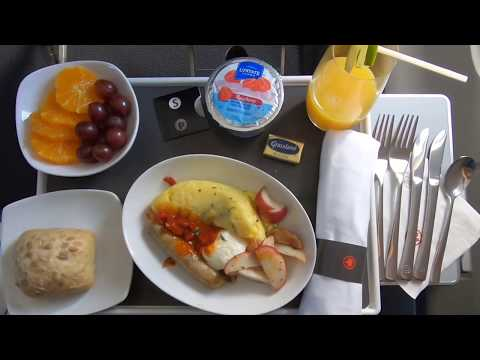 Air Canada Express 8107 - Business Class - Denver To Vancouver - Bombardier CRJ