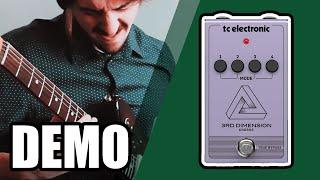 TC Electronic 3rd Dimension CHORUS No Talk just Sound !