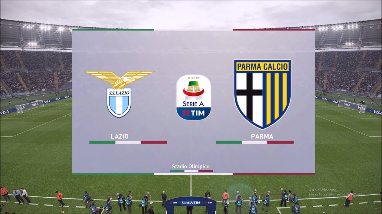 Lazio - Parma 28°giornata Serie A pronostico Pes 2019 - YouTube