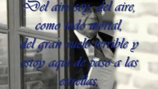 Gonzalo Rojas - Mortal . Melodía: Kitaro - Spiritual Garden