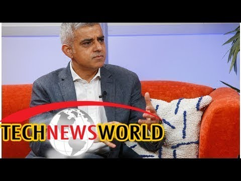 London mayor Sadiq Khan tells tech giants they are not above the law