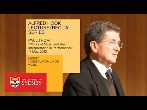 Works Of Music And Their Interpretation In Performance - Paul Thom