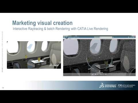 Webinar: Dassault Systèmes' 'Interior Cabin Design with CATIA Creative Design and CATIA Icem'