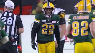 Christion Jones 2019 Edmonton Eskimos Highlights