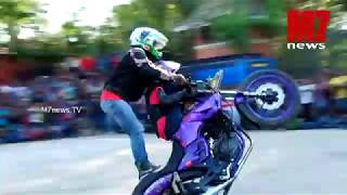 Bike stunt - Autobahn 2014 Stunt Show Trivandrum with Ghost Ryderz