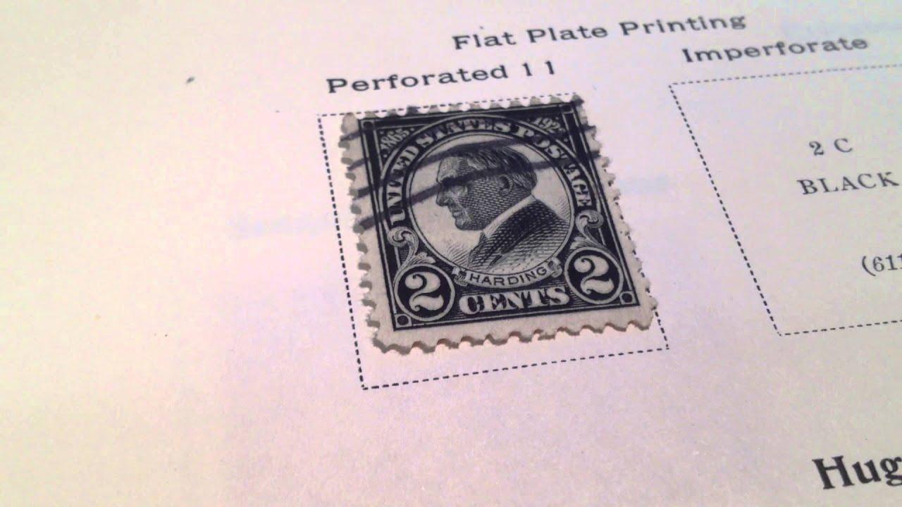 1923 2 Warren G Harding Memorial Issue 29th US President Postage Stamp Scotts 610