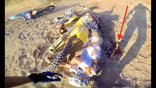 FOUND KNOCKED OUT DIRTBIKER (SAVED HIS LIFE)