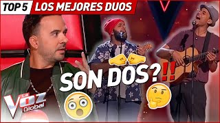 The MOST SURPRISING DUOS in La Voz