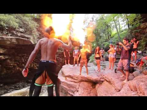 Cliff Jumping -- NAY AUG GORGE, PA