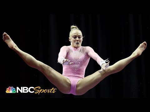 Riley McCusker dominates on bars, sits in 4th at US Nationals | NBC Sports