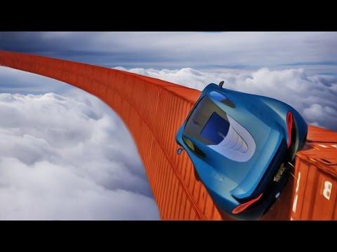 NEVEROVATAN WALLRIDE FLIP ! Grand Theft Auto V - Lude Trke w/Cale