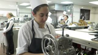 New York City - Peter Hernou visiting Eleven Madison Park part of the kitchen