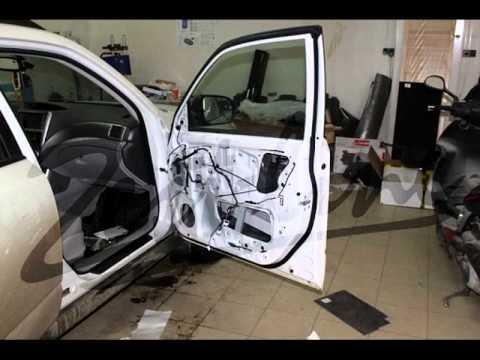 Шумоизоляция дверей по акции на Subaru Forester