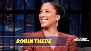 Robin Thede Was Intimidated Working with Angela Bassett on A Black Lady Sketch Show