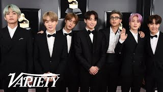 BTS Wants To Sing With Lady Gaga - 2019 Grammys Red Carpet