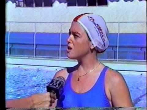 Natação a partir de 3 meses na D'stak - TV Manchete 1987