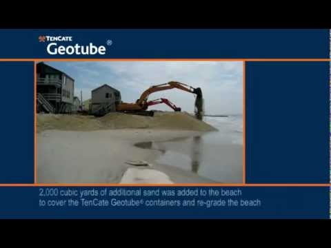 Coastal protection and Erosion control using Geotube