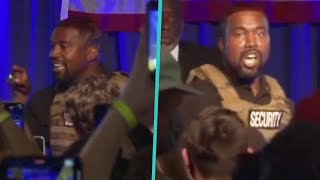 Kanye West's Shocking Campaign Rally Speech