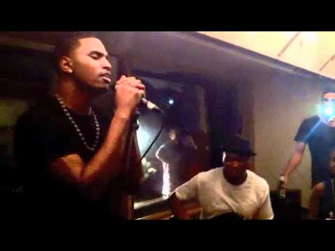 Trey Songz performs Cant Be Friends  Intimate Show
