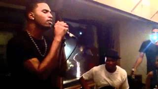 Trey Songz performs