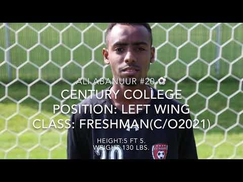 ALI ABANUUR  FRSHMAN YEAR HIGHLIGHTS  | CENTURY COLLEGE soccer | 2017