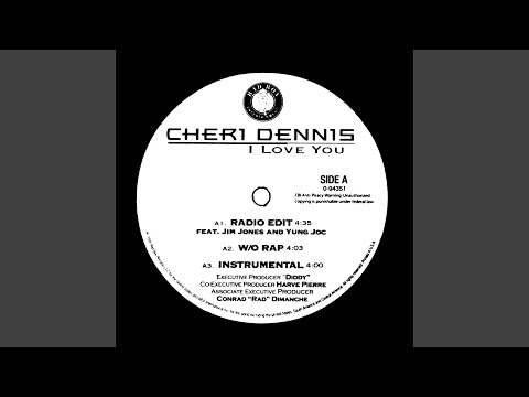 I Love You (Feat. Black Rob and Jim Jones) (Radio Edit w/o Rap)