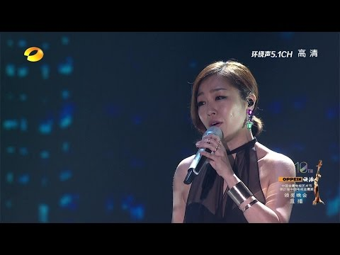 Lena Park (박정현) - My Wish (마음으로만;只在心里) @ 2014.10.12 Live (HunanTV)China Golden Eagle TV Art Festival