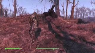 Fallout 4 - Crashed Vertibird Power Armor Location