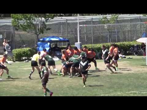 2017 U18 Rhinos vs Santa Monica - Quarter Final