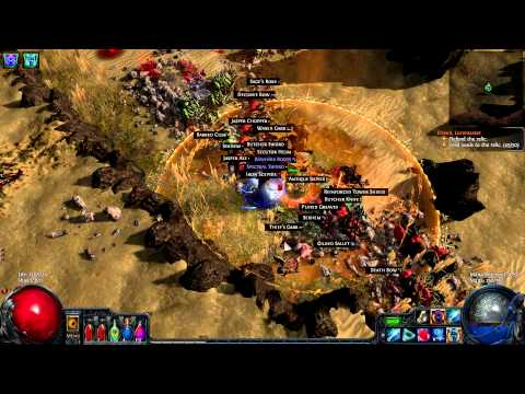 Let's Play Path of Exile (6) road closed