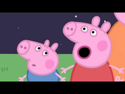 Peppa Pig (Свинка Пеппа) 8. Camping (мультфильм на английском)